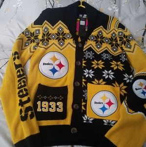 Other - New and Limited NFL Steelers Christmas Cardigan